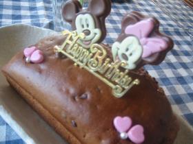 チョコとバナナのパウンドケーキ