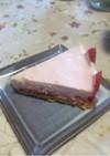 簡単イチゴムースケーキ