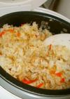 簡単☆鮭缶で炊き込みご飯