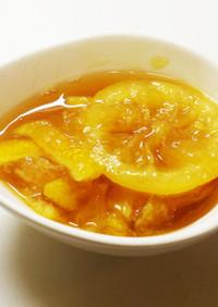 一人でひっそり食べる黄金柑のジャム