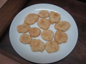卵不使用のバナナと林檎のクッキー