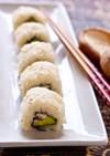 ベジタリアンさんの椎茸アボカド寿司
