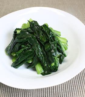 小松菜の炒めもの