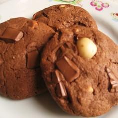 しっとり♡大きなソフトクッキー*チョコ*