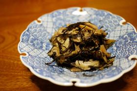 干し椎茸とひじきの煮物