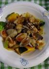 アサリの野菜蒸し(柚子こしょう)