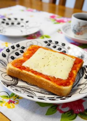 *朝食に*トマトチーズトースト*