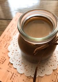 レンジで簡単*ふるふるカフェモカプリン