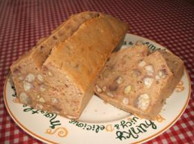 ばらばらマロングラッセのケーキ