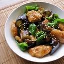 なす&ピーマン&鶏むね肉で簡単中華!