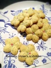 クッキープレスで♡紅茶のサクサククッキーの写真