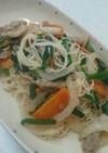 簡単♪美味しい素麺チャンプルー