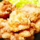 肉汁がジュワッと旨い!鶏もも肉の塩唐揚げ
