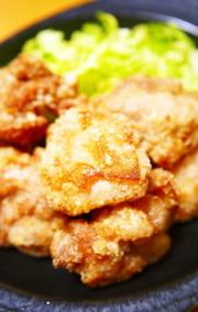 肉汁がジュワッと旨い!鶏もも肉の塩唐揚げの写真