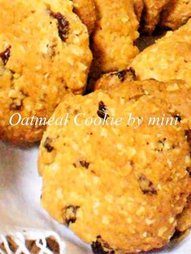 Oldアメリカ☆オーツクッキー