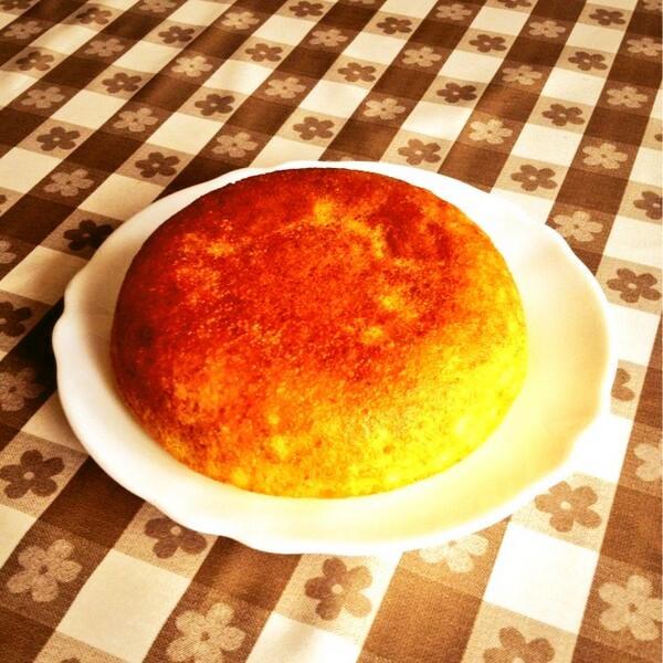 オーブンいらず☆簡単炊飯器ケーキ