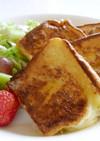 シュガーチーズのカリッとフレンチトースト