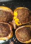 ジャンボピーマンの肉詰め*ボリューム満点