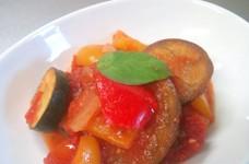 夏の常備菜◆自家製ラタトゥイユ