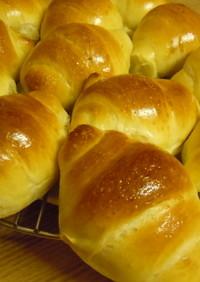 酵母種入りロールパン(バターなし)