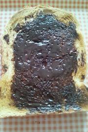 チョコハニートーストの写真