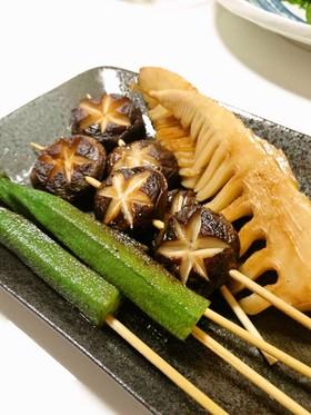 おうち居酒屋☆あっさり美味しい串焼き野菜