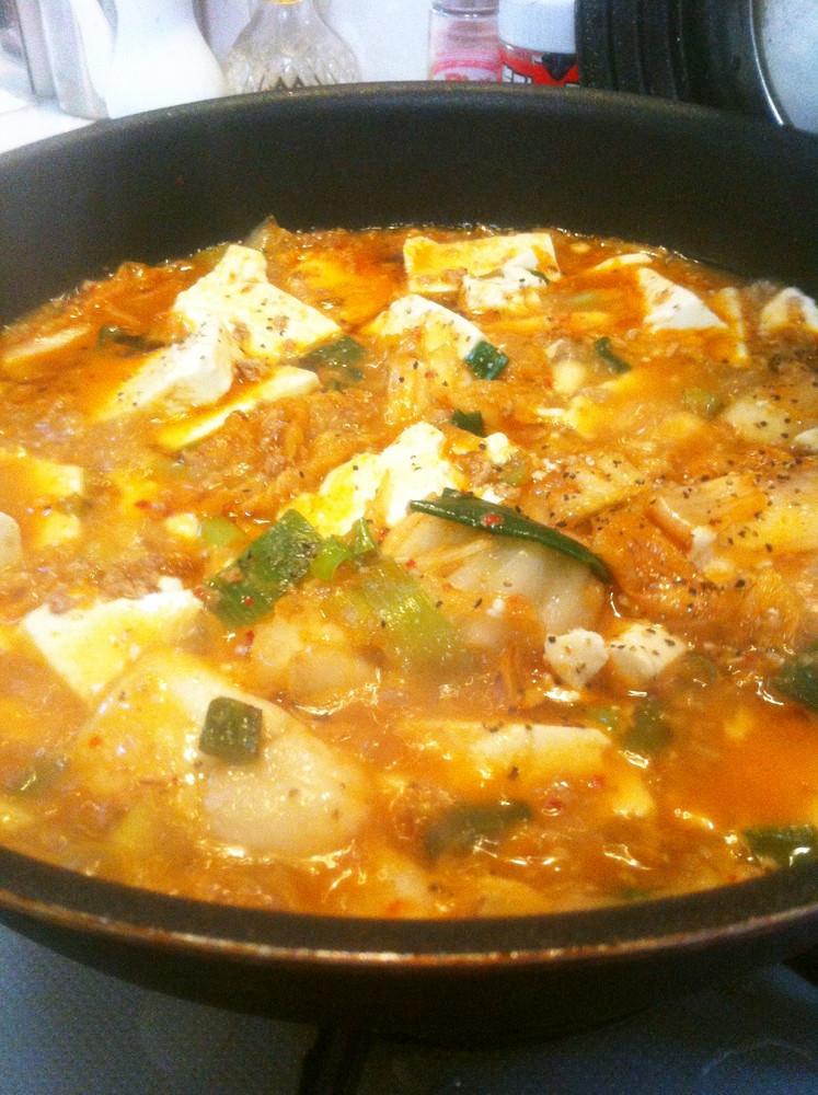 簡単 キムチ麻婆豆腐