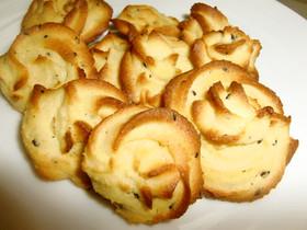 大豆粉の絞り出しクッキー