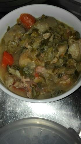 里芋と鶏もも肉の煮物