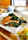 鮭とわかめの生姜炒め【作り置き】