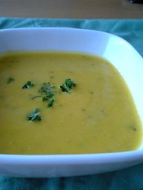 かぼちゃの豆乳ポタージュスープ