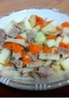 粕漬け豚の野菜炒め