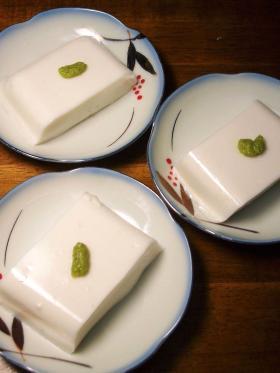 自家製落花生でジーマミ豆腐と卯の花