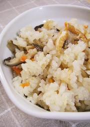 お野菜美味しい!五目炊き込みご飯の写真