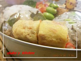 お弁当❀煮物や金平のリメイク卵焼き