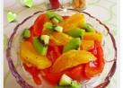 オレンジとトマトのフルーツサラダ