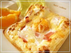 簡単♪冷凍食パンで作るラピュタパン