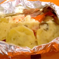 魚嫌いサンもOK⁈鮭ホイルマヨチーズ焼き