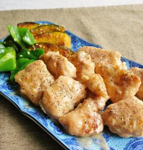 お弁当に重宝!鶏むね肉のマヨ和え