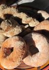 パン屋さんのドーナツをおうちで!