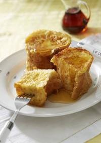 バター好きの♪簡単本格フレンチトースト