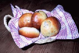HBで作る豆パン♪