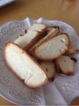 HBドライイースト入れ忘れ食パンの食べ方