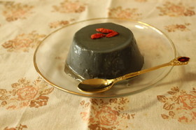豆乳黒ゴマプリン