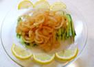 本物の味!中華クラゲ前菜!