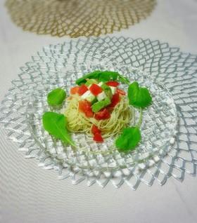 【美レシピ】簡単!美味しい!冷製パスタ