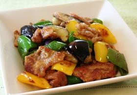 夏野菜と豚肉の香ばしソテー