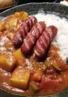 トマト缶で簡単!肉なしカレー