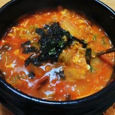 激辛好き♡辛さ調節可☆辛うま韓国風雑炊!