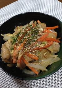 納豆と野菜の親子煮♪